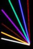 Abstracte Lichte Stralen Stock Foto