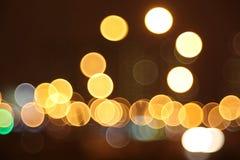 Abstracte lichten, flits, nacht Royalty-vrije Stock Foto