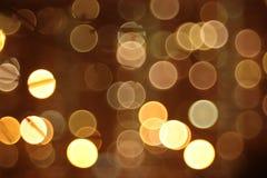 Abstracte lichten, flits, nachtstad Royalty-vrije Stock Foto's