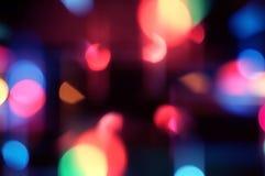 Abstracte lichten, vaag abstract patroon Stock Foto's