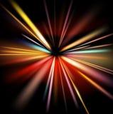 Abstracte lichtenachtergrond Stock Afbeelding