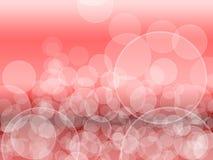 Abstracte Lichtenachtergrond met Bokeh Stock Foto's