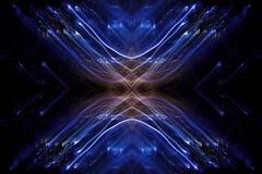 Abstracte lichtenlijnen in motie royalty-vrije stock foto