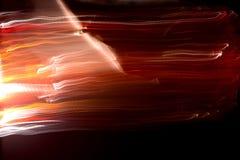 Abstracte lichtenlijnen in motie royalty-vrije stock afbeeldingen
