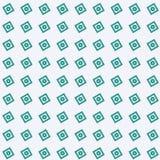 Abstracte Lichtgroene achtergrond Als achtergrond met donkergroene Vierkant en cirkel geometrische texturen naadloze Vectorillust vector illustratie