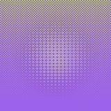 Abstracte lichtgroene grappige halftone punten op violette achtergrond royalty-vrije illustratie