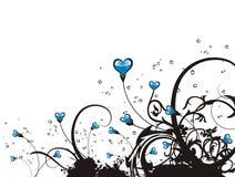 Abstracte liefdeachtergrond Royalty-vrije Stock Afbeelding