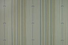 Het donkere gele blauwe vinyl van de lijn en van de bloem Royalty-vrije Stock Afbeeldingen