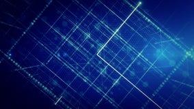 Abstracte lijn met lichte LIJN als achtergrond stock videobeelden