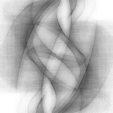 Abstracte lijnen royalty-vrije illustratie