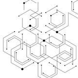 Abstracte lijnen Stock Afbeelding