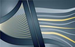 Abstracte lijnen en krommen Royalty-vrije Stock Afbeeldingen