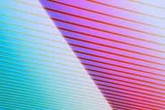 Abstracte lijnen kleurrijke achtergrond Stock Fotografie
