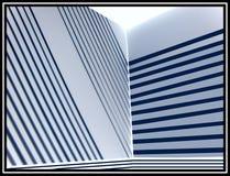Abstracte Lijnen Twee Stock Fotografie