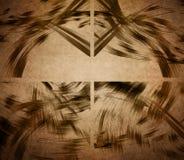 Abstracte lijnensamenstellingen Royalty-vrije Stock Afbeelding
