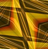 Abstracte lineaire kleurenachtergrond. Royalty-vrije Stock Afbeelding