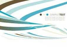 Abstracte linten Stock Afbeelding