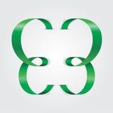 Abstracte lintvlinder Vector illustratie Stock Foto's