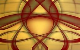 Abstracte luxeachtergrond Vector illustratie Stock Foto