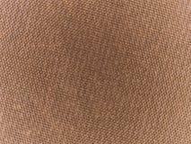 Abstracte macrotextuur - bruine waterdichte stof Stock Afbeeldingen