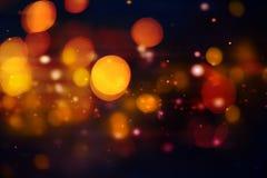 Abstracte magische lichte achtergrond Stock Foto