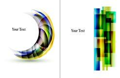 Abstracte malplaatjes als achtergrond Stock Fotografie