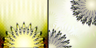 Abstracte malplaatjes als achtergrond Royalty-vrije Stock Foto's
