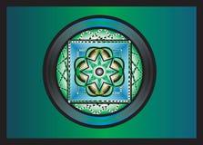Abstracte mandala stock illustratie