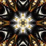 Abstracte Mandala Background Royalty-vrije Stock Foto