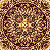 Abstracte Mandala Background Stock Afbeeldingen