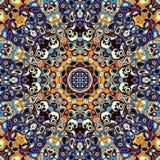 Abstracte Mandala Background Royalty-vrije Stock Fotografie