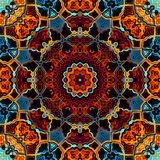Abstracte Mandala Background stock illustratie