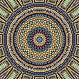 Abstracte Mandala Background Royalty-vrije Stock Afbeeldingen