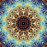 Abstracte Mandala Background Stock Foto's