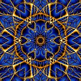 Abstracte Mandala Background Stock Afbeelding