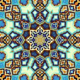 Abstracte Mandala Background Royalty-vrije Stock Fotografie