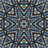 Abstracte Mandala Background Royalty-vrije Stock Afbeeldingen