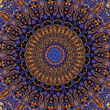 Abstracte Mandala Background Royalty-vrije Stock Foto