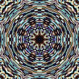 Abstracte Mandala Background Stock Foto