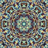 Abstracte Mandala Background Stock Afbeelding