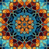 Abstracte Mandala Background Stock Afbeeldingen