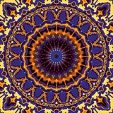 Abstracte Mandala Background royalty-vrije illustratie