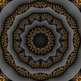 Abstracte Mandala Background Stock Fotografie