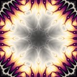 Abstracte Mandala Background vector illustratie