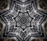 Abstracte mandala 5 opgeruimde ster Stock Foto