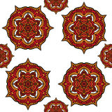 Abstracte Mandala Pattern Design royalty-vrije illustratie