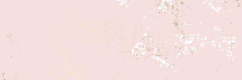 Abstracte Marmeren Gouden folie geweven achtergrond van de Patroon de in pastelkleur royalty-vrije illustratie