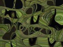Abstracte marmeren moderne kunsttextuur stock illustratie