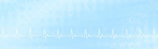Abstracte Medische Achtergrond Stock Afbeeldingen
