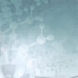 Abstracte medische molecules royalty-vrije illustratie